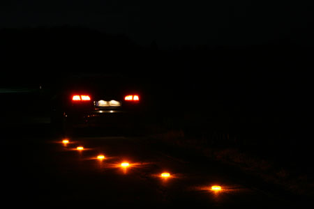 LED Powerflare Absicherung bei Unfallstellen