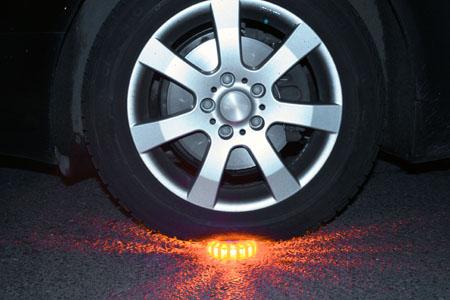 LED Powerflare ueberfahren
