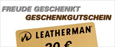 Geschenkgutschein Leatherman